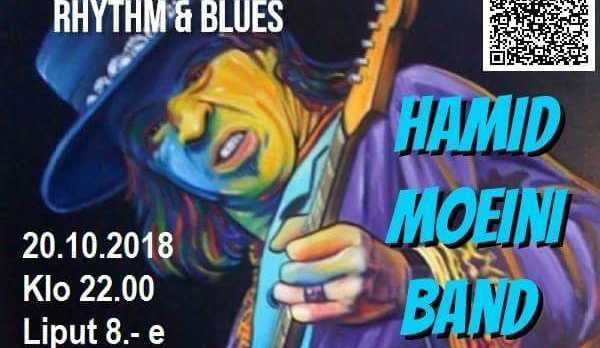 20.10.2018 HMB /Tribute to Stevie Ray Vaughan